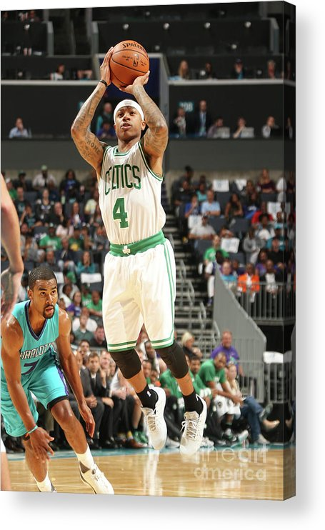 Nba Pro Basketball Acrylic Print featuring the photograph Isaiah Thomas by Kent Smith
