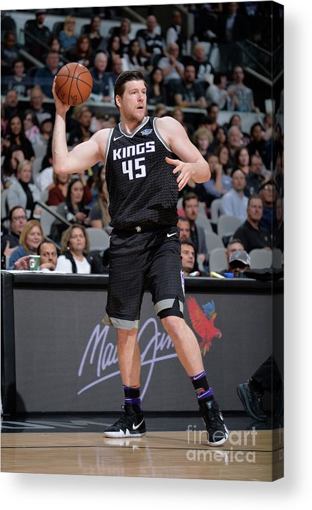 Nba Pro Basketball Acrylic Print featuring the photograph Jack Cooley by Mark Sobhani
