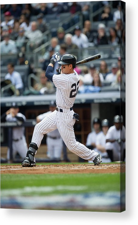 American League Baseball Acrylic Print featuring the photograph Jacoby Ellsbury by Rob Tringali