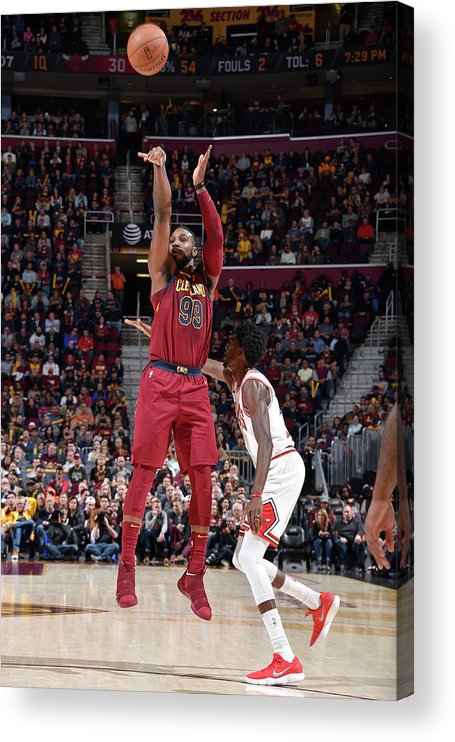Nba Pro Basketball Acrylic Print featuring the photograph Jae Crowder by David Liam Kyle