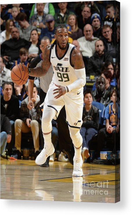 Nba Pro Basketball Acrylic Print featuring the photograph Jae Crowder by Noah Graham