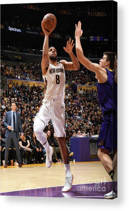 Nba Pro Basketball Acrylic Print featuring the photograph Jahlil Okafor by Andrew D. Bernstein