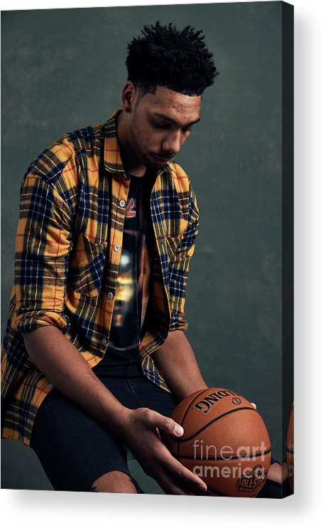 Event Acrylic Print featuring the photograph Jahlil Okafor by Jennifer Pottheiser