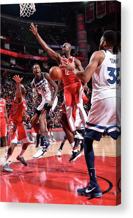 Nba Pro Basketball Acrylic Print featuring the photograph Jamal Crawford by Bill Baptist