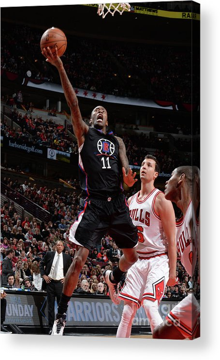 Nba Pro Basketball Acrylic Print featuring the photograph Jamal Crawford by Randy Belice