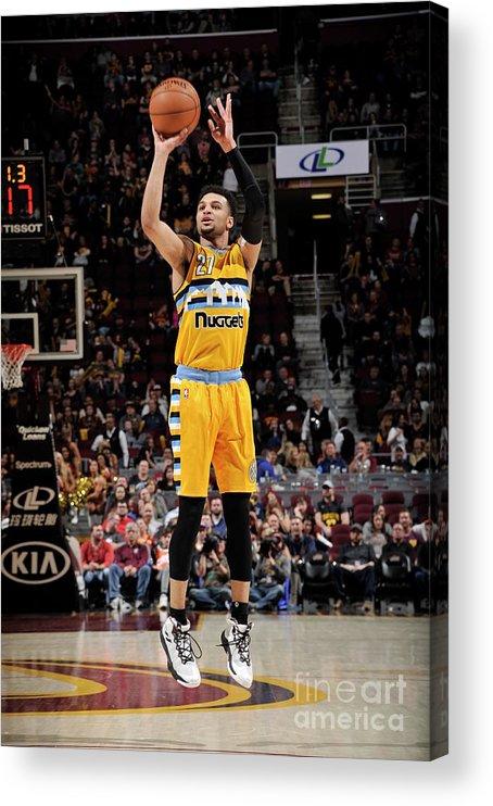 Nba Pro Basketball Acrylic Print featuring the photograph Jamal Murray by David Liam Kyle