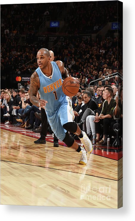 Nba Pro Basketball Acrylic Print featuring the photograph Jameer Nelson by Ron Turenne