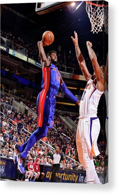 Sports Ball Acrylic Print featuring the photograph James Ennis by Barry Gossage