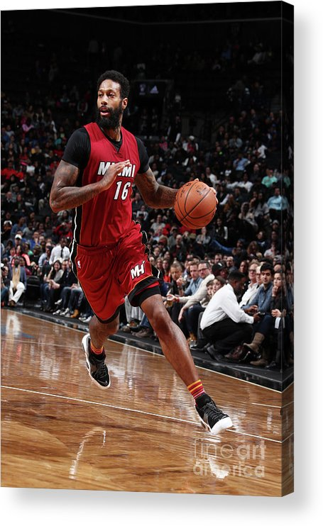 Nba Pro Basketball Acrylic Print featuring the photograph James Johnson by Nathaniel S. Butler