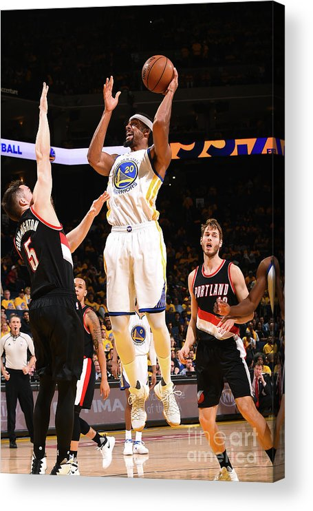 Playoffs Acrylic Print featuring the photograph James Michael Mcadoo by Noah Graham
