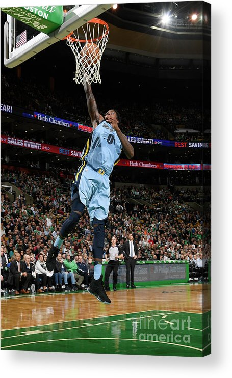 Nba Pro Basketball Acrylic Print featuring the photograph Jamychal Green by Brian Babineau