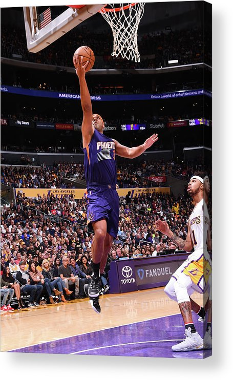 Nba Pro Basketball Acrylic Print featuring the photograph Jared Dudley by Andrew D. Bernstein