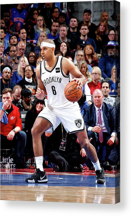 Nba Pro Basketball Acrylic Print featuring the photograph Jared Dudley by Brian Sevald