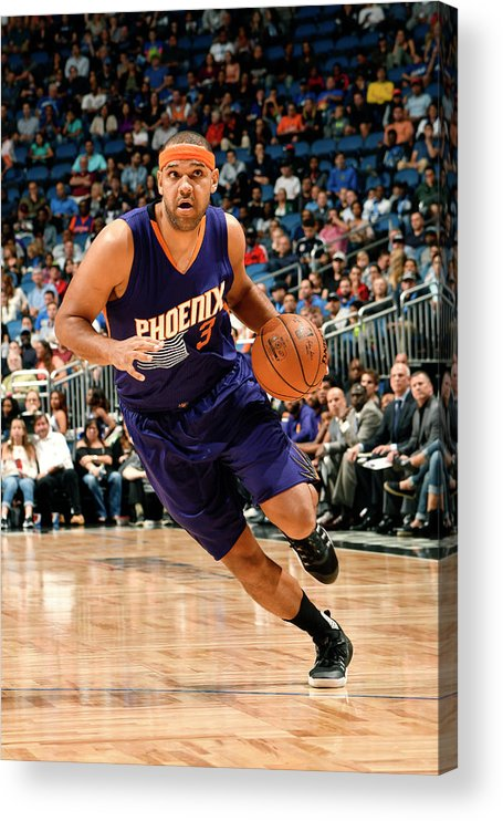 Nba Pro Basketball Acrylic Print featuring the photograph Jared Dudley by Fernando Medina
