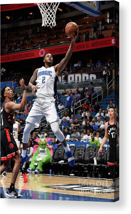 Playoffs Acrylic Print featuring the photograph Jarell Martin by Gary Bassing
