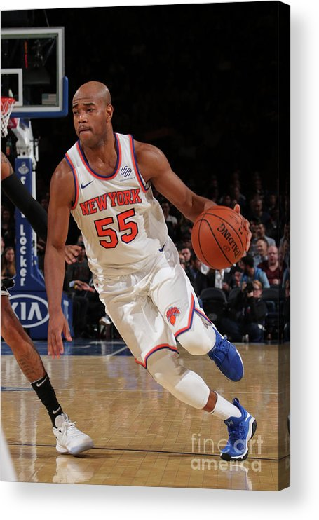 Nba Pro Basketball Acrylic Print featuring the photograph Jarrett Jack by Nathaniel S. Butler