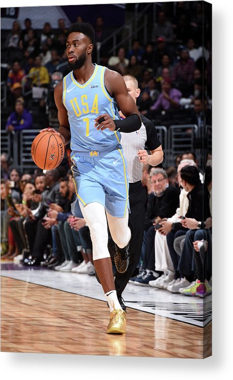Event Acrylic Print featuring the photograph Jaylen Brown by Andrew D. Bernstein