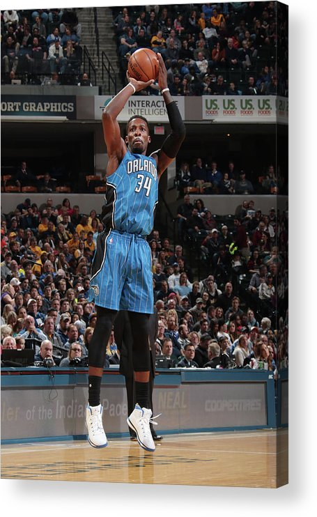 Nba Pro Basketball Acrylic Print featuring the photograph Jeff Green by Ron Hoskins