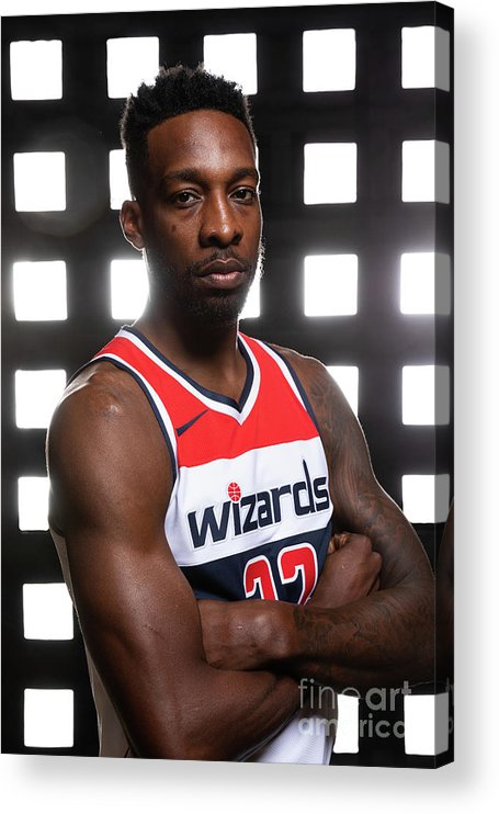 Media Day Acrylic Print featuring the photograph Jeff Green by Stephen Gosling