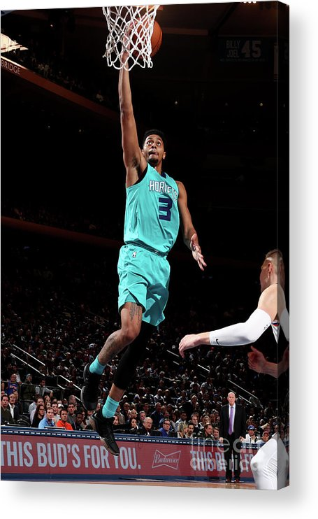 Nba Pro Basketball Acrylic Print featuring the photograph Jeremy Lamb by Nathaniel S. Butler