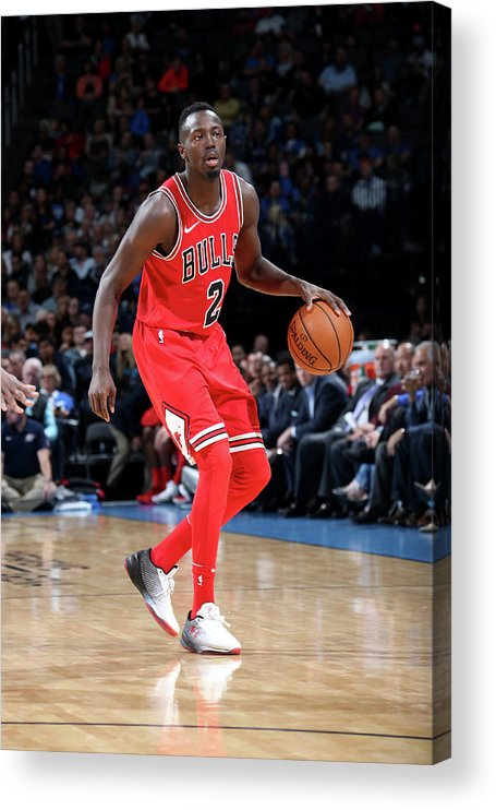 Nba Pro Basketball Acrylic Print featuring the photograph Jerian Grant by Layne Murdoch
