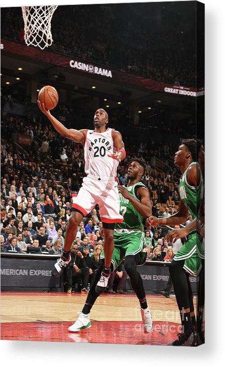 Jodie Meeks Acrylic Print featuring the photograph Jodie Meeks by Ron Turenne
