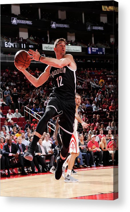 Nba Pro Basketball Acrylic Print featuring the photograph Joe Harris by Bill Baptist