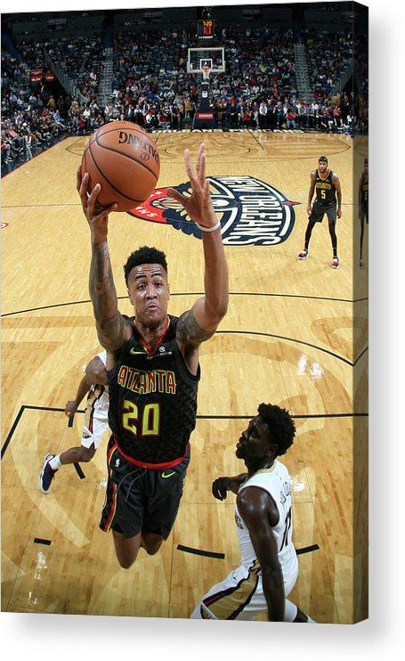 Smoothie King Center Acrylic Print featuring the photograph John Collins by Layne Murdoch
