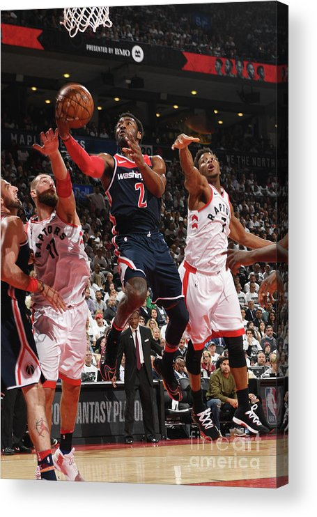 Playoffs Acrylic Print featuring the photograph John Wall by Ron Turenne