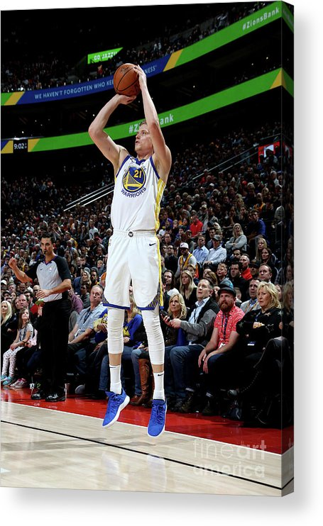 Nba Pro Basketball Acrylic Print featuring the photograph Jonas Jerebko by Melissa Majchrzak