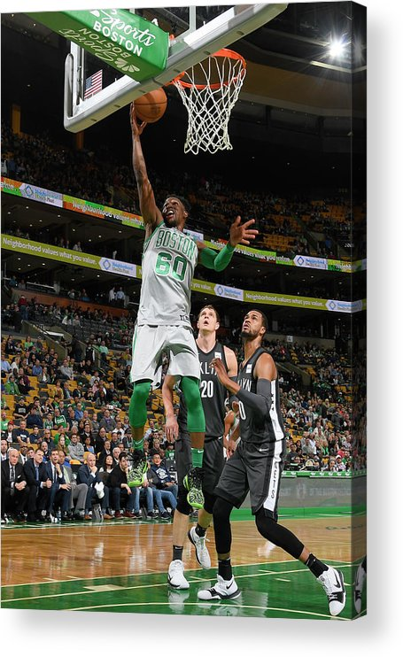 Basketball Team Acrylic Print featuring the photograph Jonathan Gibson by Brian Babineau