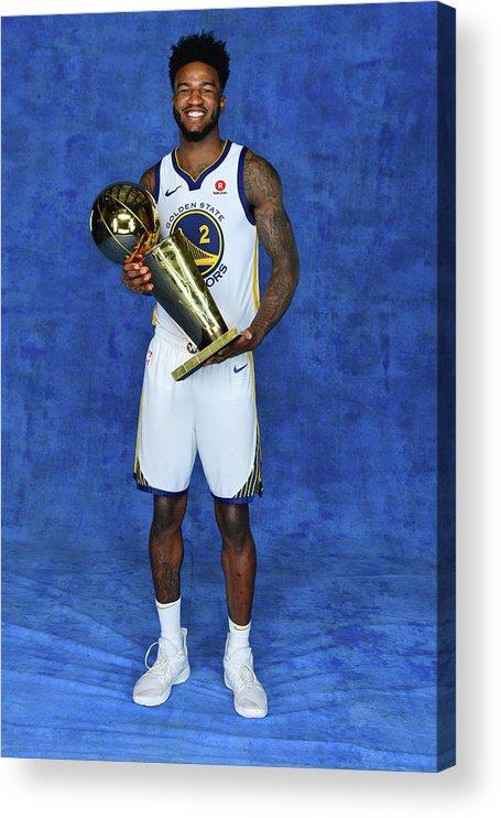 Playoffs Acrylic Print featuring the photograph Jordan Bell by Jesse D. Garrabrant