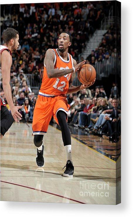 Nba Pro Basketball Acrylic Print featuring the photograph Jordan Mcrae by David Liam Kyle