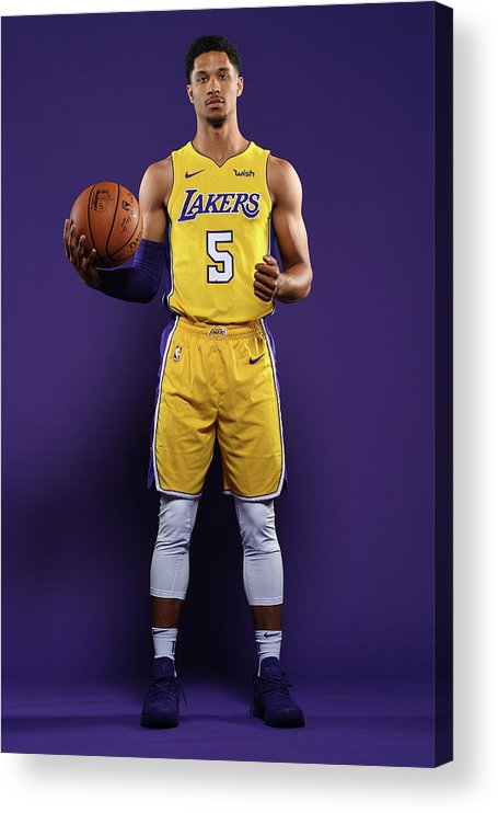 Media Day Acrylic Print featuring the photograph Josh Hart by Aaron Poole