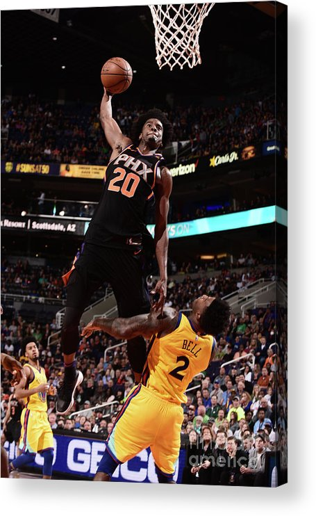 Sports Ball Acrylic Print featuring the photograph Josh Jackson by Michael Gonzales