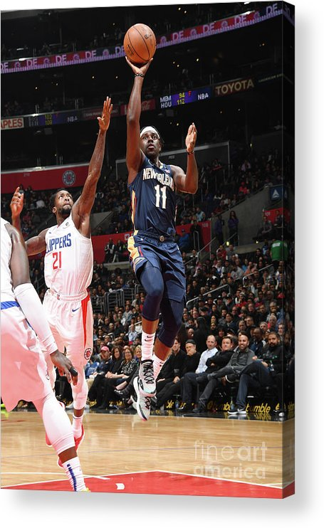 Nba Pro Basketball Acrylic Print featuring the photograph Jrue Holiday by Andrew D. Bernstein