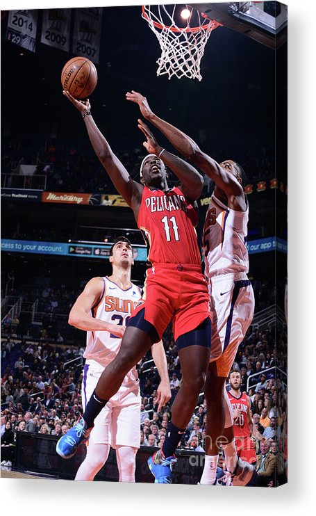 Nba Pro Basketball Acrylic Print featuring the photograph Jrue Holiday by Michael Gonzales