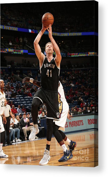 Smoothie King Center Acrylic Print featuring the photograph Justin Hamilton by Layne Murdoch
