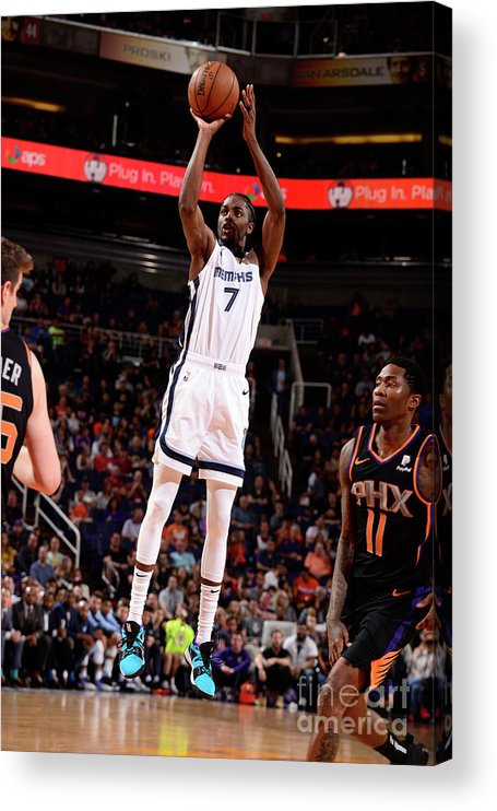 Nba Pro Basketball Acrylic Print featuring the photograph Justin Holiday by Barry Gossage