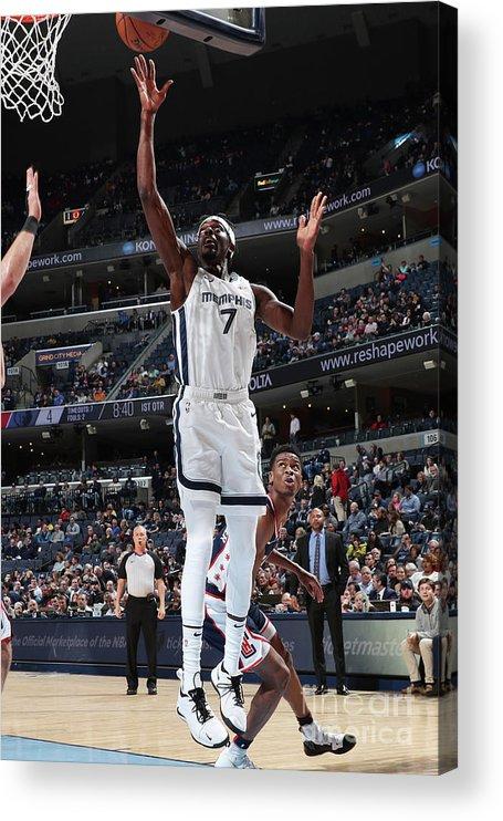 Nba Pro Basketball Acrylic Print featuring the photograph Justin Holiday by Joe Murphy