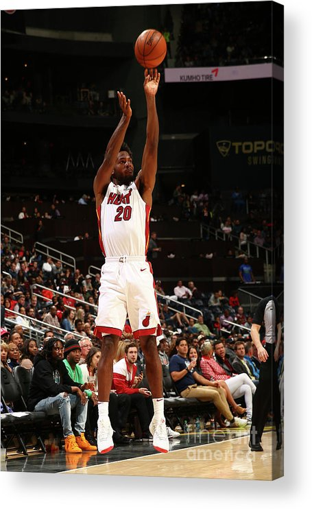 Atlanta Acrylic Print featuring the photograph Justise Winslow by Kevin Liles