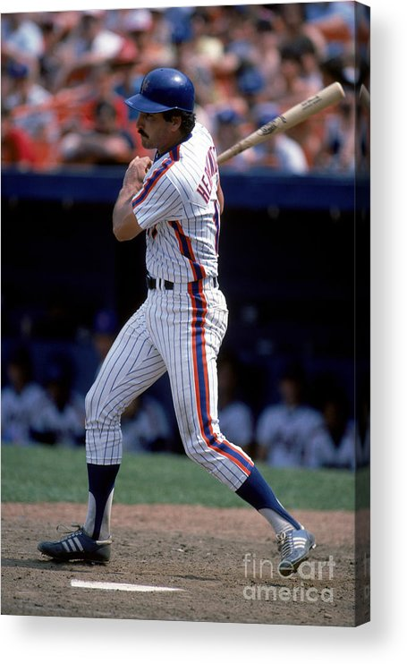 1980-1989 Acrylic Print featuring the photograph Keith Hernandez by Rich Pilling
