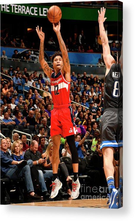 Nba Pro Basketball Acrylic Print featuring the photograph Kelly Oubre by Fernando Medina
