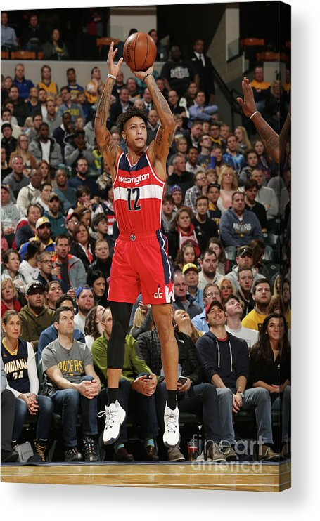 Nba Pro Basketball Acrylic Print featuring the photograph Kelly Oubre by Gary Dineen