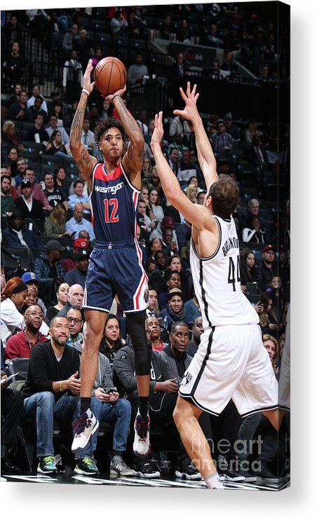 Nba Pro Basketball Acrylic Print featuring the photograph Kelly Oubre by Nathaniel S. Butler