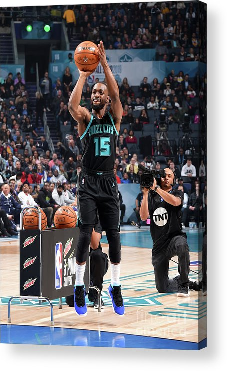 Kemba Walker Acrylic Print featuring the photograph Kemba Walker by Andrew D. Bernstein