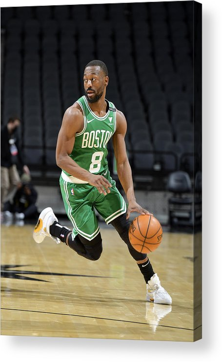 Kemba Walker Acrylic Print featuring the photograph Kemba Walker by Logan Riely