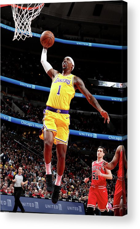 Nba Pro Basketball Acrylic Print featuring the photograph Kentavious Caldwell-pope by Nathaniel S. Butler