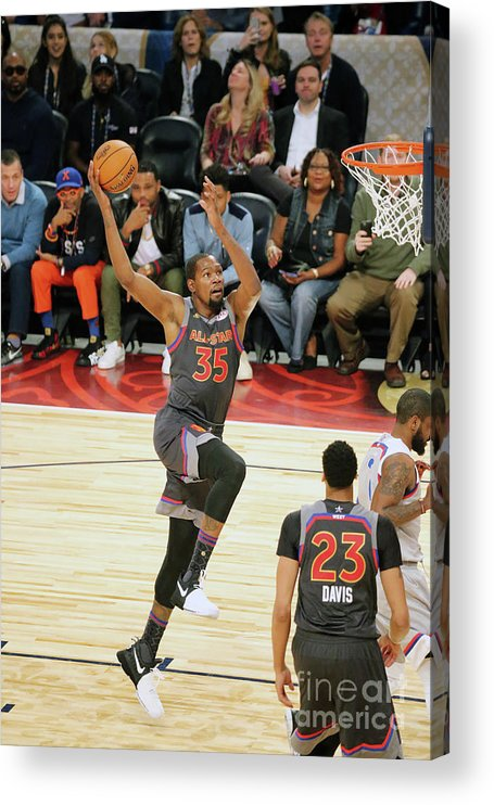 Event Acrylic Print featuring the photograph Kevin Durant by Bruce Yeung