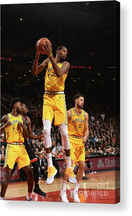 Nba Pro Basketball Acrylic Print featuring the photograph Kevin Durant by Ron Turenne